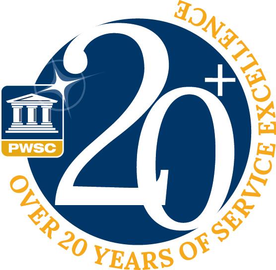 PWSC 20+ Logo